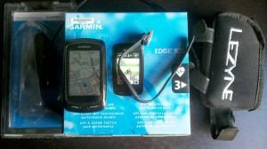 800 Edge + Garmin Kit 310xt extracción rápida + bolsa Leyze